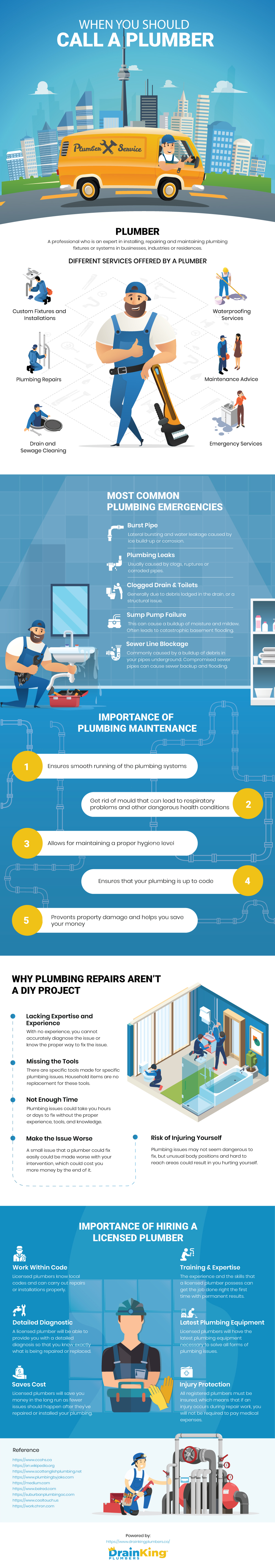 When You Should Call A Plumber