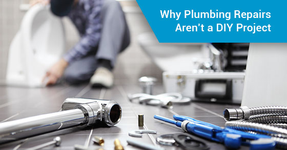 Why Plumbing Repairs Aren't a DIY Project