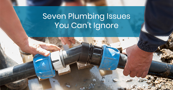 Seven Plumbing Issues You Can't Ignore