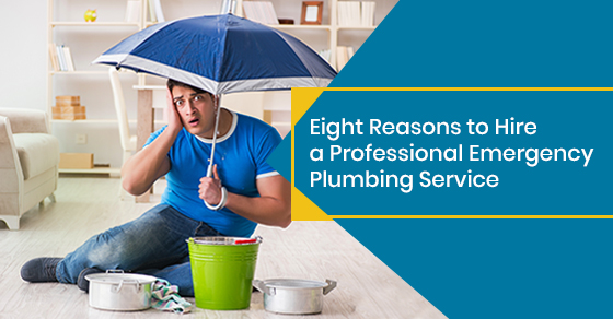 Eight Reasons to Hire a Professional Emergency Plumbing Service