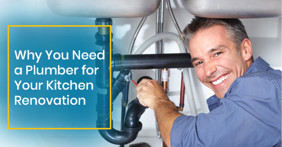 Why You Need a Plumber for Your Kitchen Renovation